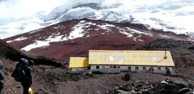 Trek to Cotopaxi Base Camp